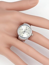 Simple Pentagram Pattern Metal Quartz Analog Ring Watch(1Pc)  Cool Watches Unique Watches