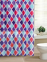 Geometic PEVA tenda della doccia