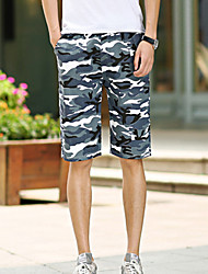 PPZ Men's Summer Beach Mid Length Pants-2 (Screen Color)