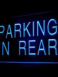 Stationnement à l'arrière Publicité LED Connexion
