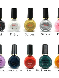 10PCS Professional Printing/Stamping Nail Polish Suits (10ml)