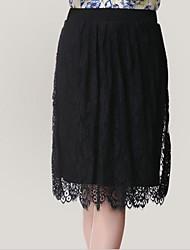 Sauvage Black Lace Skirt