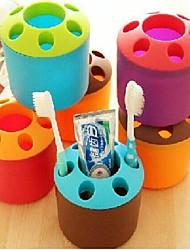 Porta-escovas coloridas e Lovely (cores sortidas)