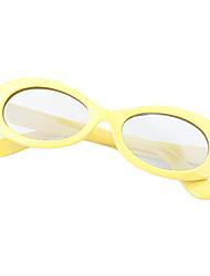 m&gafas 3d de chledren retardador luz polarizada k estampados para el cine y la TV en 3D de RealD (amarillo)