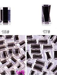 yemannvyou®10pcs alto grau de base plana strass Decorações Nail Art no.16-17 (cores sortidas)