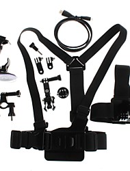 YuanBoTong  Chest Strap Headband with Other Accessory Kit for GoPro Hero3+/3/2/1