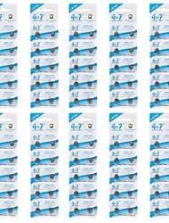 goop ag5/lr754/393/193 alcalinas 1.5v baterias botão celular (10 pcs packs/100)