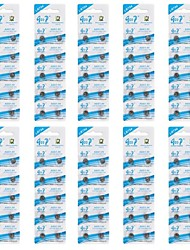 GOOP ag5/lr754/393/193 батареи клетки кнопки 1.5V щелочные (10 packs/100 шт)