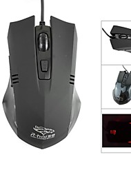 R.horse FC-5150 USB 800/1600/2400 / 3200dpi Wired Optical Gaming Mouse