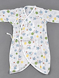 Kinder Nishimatsu Gehäuse 2 Lagen Baumwolle Gaze, Neugeborene Baby-Kleidung Kleidung Schmetterling Farbe Zufalls