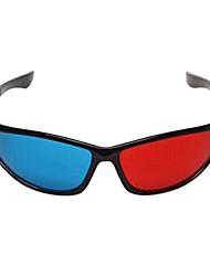 ле-видения общие Red Blue 3D очки для компьютера TV Мобильный