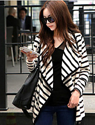 Women's Blazers & Sport Coats , Cotton Blend Casual