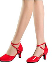 Women's Leatherette Ankle Strap Modern Dance Shoes