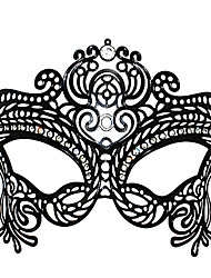 Dunkle Königin-Art Black Metal Halloween-Maskerade-Masken