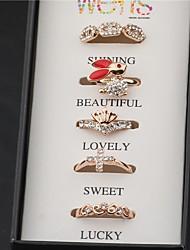 élégant diamonade chrome dioside anneau des femmes Senlan