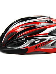 acrono 21 saídas de estrada de montanha vermelho integralmente moldado capacete ciclismo (57-62 centímetros)