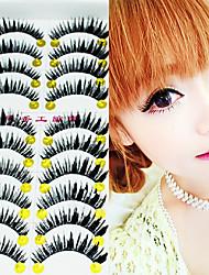 1 Pcs Pure Manual Thick False Eyelash