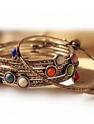 MISS U Frauen Bronze Weinlese-Armband