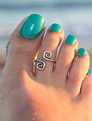 Body Jewelry/Toe Rings Alloy Others Unique Design Fashion Silver 1pc