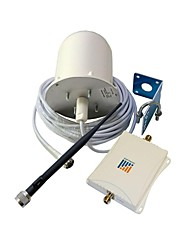 900/1800MHz 70db haute puissance répéteur Mobile Cell Phone Signal Amplificateur Omni et antenne intérieure