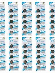 pilas cr2032 3v pegote de litio botón celular (50 piezas)