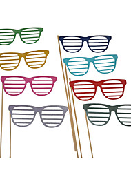 Wedding Décor Colorful Glasses Photography Photo Props for /Party (8 Pieces)