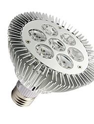 Luces PAR Regulable LOHAS PAR30 E26/E27 7W 7 LED de Alta Potencia 630-680 LM Blanco Cálido AC 100-240 V