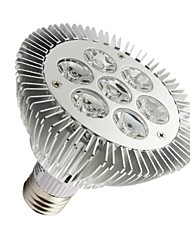 7W E26/E27 PAR Lampen PAR30 7 High Power LED 630-680 lm Warmes Weiß Dimmbar AC 100-240 V