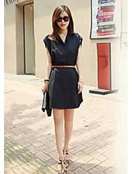 Women's Dresses , Chiffon Casual LWS