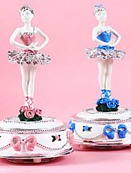 Delicate Dancing Ballerina Music Box