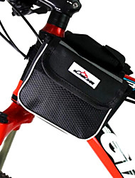 MOVEIRON 600D Polyester Mesh and Nylon Black Cycling Frame Bag