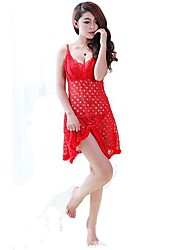 tentación de moda de dnyh®women a ahueca hacia fuera camisón atractivo