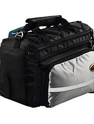 mzyrh polyester sac de coffre de vélo de 1608d noir et blanc