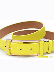 Women's Vintage and Simple Pin Button Leisure Belt