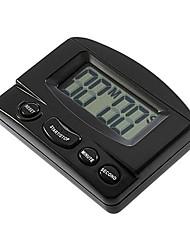 60 mins genérico grande tela digital de alarme timer de cozinha eletrônico (cor aleatória)