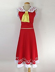 Inspired by Touhou Project Hakurei Reimu Cosplay Costumes