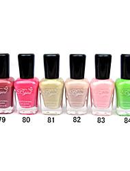 French Imports Makings Pro-environment Nail Polish NO.79-84(16ml,Assorted Color)