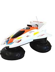 Vielseitigkeit Schnee Straße Fern Simulation Speed Boat Schiffs Gummi-Rohstoffe Rote und weiße Schnellboot