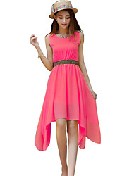 Women's Dresses , Chiffon Casual
