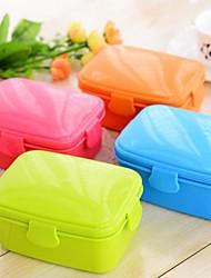 Japanese Style Leak-proof DoubleLayer Lunch Box (Random Color)