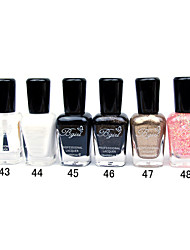 French Imports Makings Pro-environment Nail Polish NO.43-48(16ml,Assorted Color)