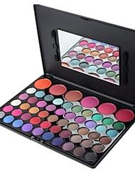 Berufs 56 Farben Lidschatten-Palette mit Spiegel Make-up-Set