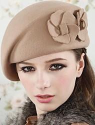 Women Wool Beret Hat , Vintage/Casual Winter