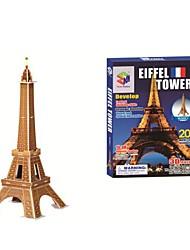Educational Toys Famous Construction Building Model Eiffel Tower 3D puzzles(20PCS, B668-2)