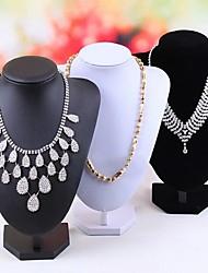 Standards à bijoux Molleton / Papier Forme Géométrique Noir / Blanc