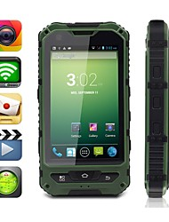 "MOXIV 4.0 "" Android 4.2 Smartphone 3G (Due SIM Dual Core 5 MP 512MB + 4 GB Verde / Giallo)"