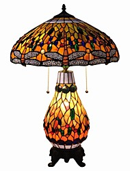 Tiffany Table Lamp With  Dragonfly