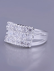Lucky Doll Women's Zircon Ring