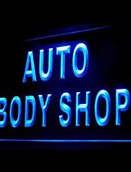 Auto Body Shop Pubblicità Light LED Sign