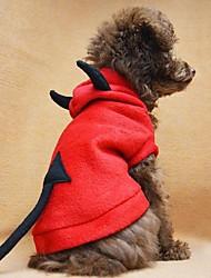 Q-Base™ Cute Devil Dog Coat Dog Clothes Pet Apparel